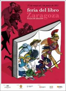 Firma en el Feria del libro de Zaragoza